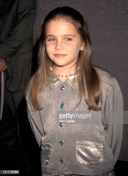 Mae Whitman at the NY Premiere of 'Hope Floats' Cinema 2 New York City