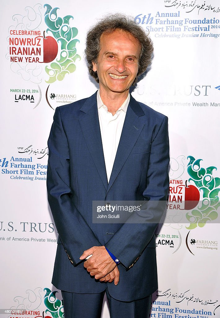 Maestro Shardad Rohani attends the 6th Annual Farhang Foundation's Short Film Festival award ceremony and reception at LACMA on March 22, 2014 in Los Angeles, California.