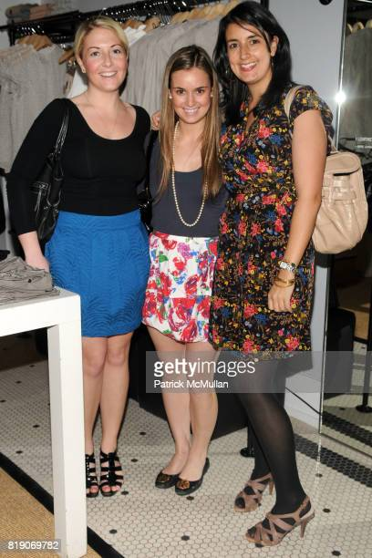 Maeve Hickey Callie Shumaker and Abby Vinyard attend CLUB MONACO Celebrates Photographer BERT STERN at Club Monaco on March 25 2010 in New York City