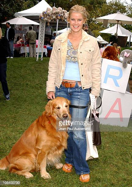 Maeve Quinlan and her dog during 'Silver Spoon Dog and Baby Buffet' Benefiting Much Love Animal Rescue Day Two at Private Residence in Beverly Hills...