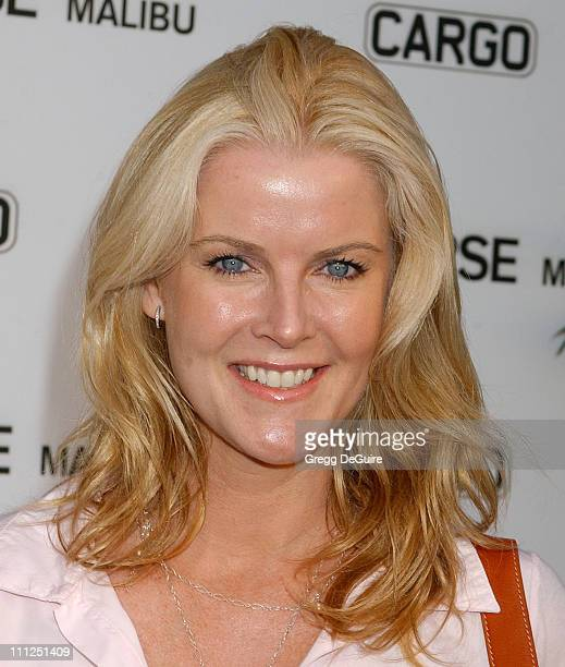 Maeve Quinlan during James Perse Malibu Store Opening at James Perse Malibu Store in Malibu California United States
