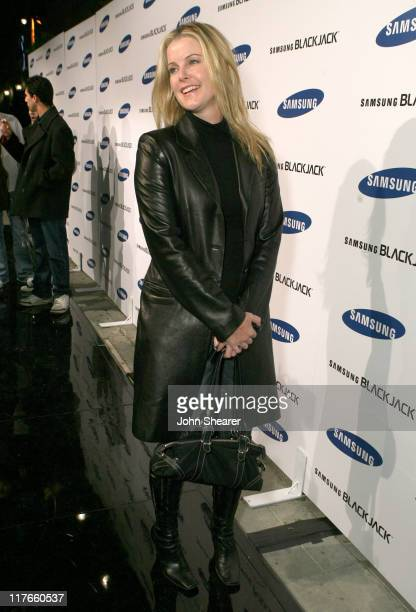 Maeve Quinlan during Jimmy Kimmel Hosts the Launch of The Samsung BlackJack Red Carpet at Boulevard3 in Hollywood California United States