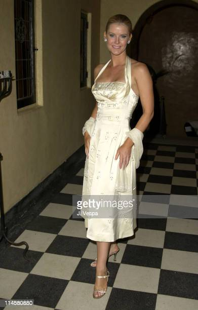 Maeve Quinlan during Lara and Lara's Old Hollywood Bash Hosted by Ciroc Vodka at The Talmadge Estate in Los Feliz California United States