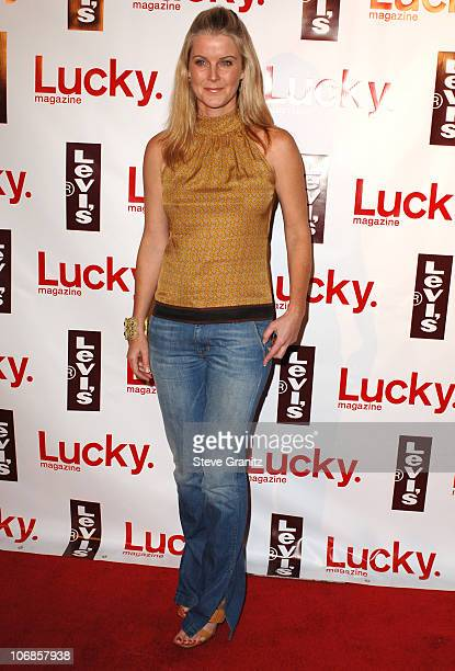 Maeve Quinlan during Levi's Jeans and Lucky Magazine Celebrate the Celebrity Grand Opening of the New Beverly Hills Levi's Store Arrivals at The...