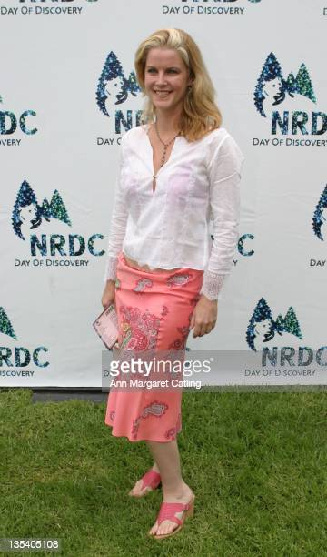 Maeve Quinlan during NRDC's Day of Discovery May 21 2006 at Wadsworth Theater Grounds in Brentwood California United States