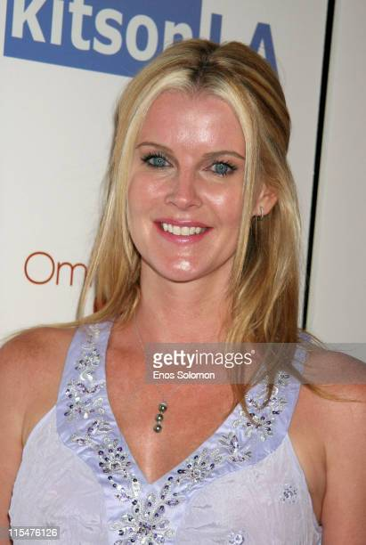 Maeve Quinlan during OmniPeace Event Launch Party at Kitson in Los Angeles CA United States