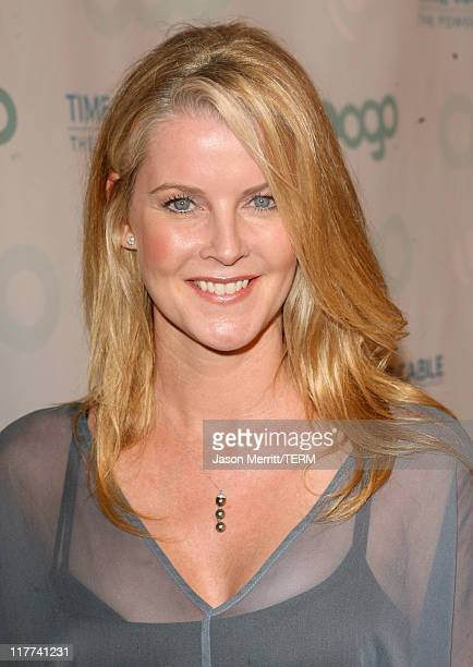 Maeve Quinlan during Time Warner Cable and MTV Networks Celebrate the Launch of Logo and Logo on Demand at Boulevard3 in Hollywood California United...