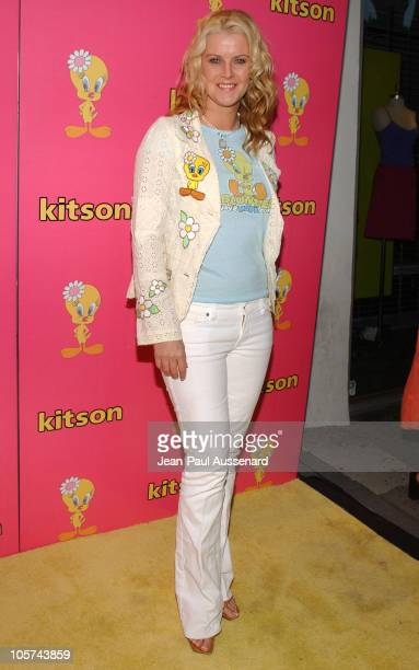 Maeve Quinlan during Tweety 'Natural Blonde' Shopping Party and Clothing Launch Arrivals at Kitson in Los Angeles California United States