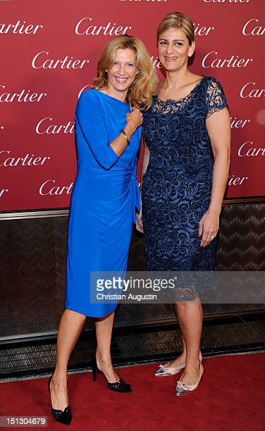 Mafalda Princess of Hessen attends Cartier Boutique ReOpening Party on September 5 2012 in Hamburg Germany