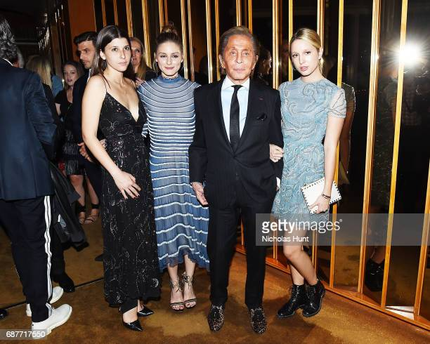 Mafalda Saxe Olivia Palermo Valentino Garavani Princess MariaOlympia of Greece and Denmark attends the Valentino Resort 2018 Runway Show After Party...