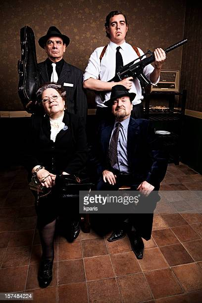Mafia Family Portrait