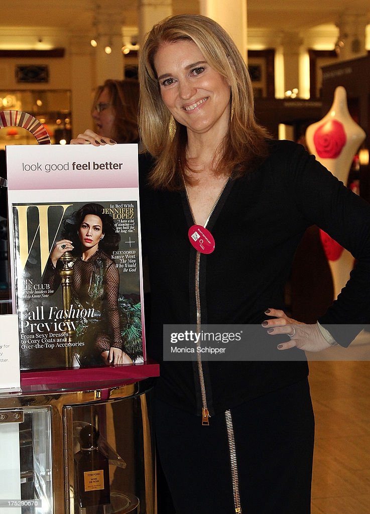 W Magazine beauty director, Jane Larkworthy, attends Second Annual Beauty Editors Day At Saks Fifth Avenue on August 1, 2013 in New York City.