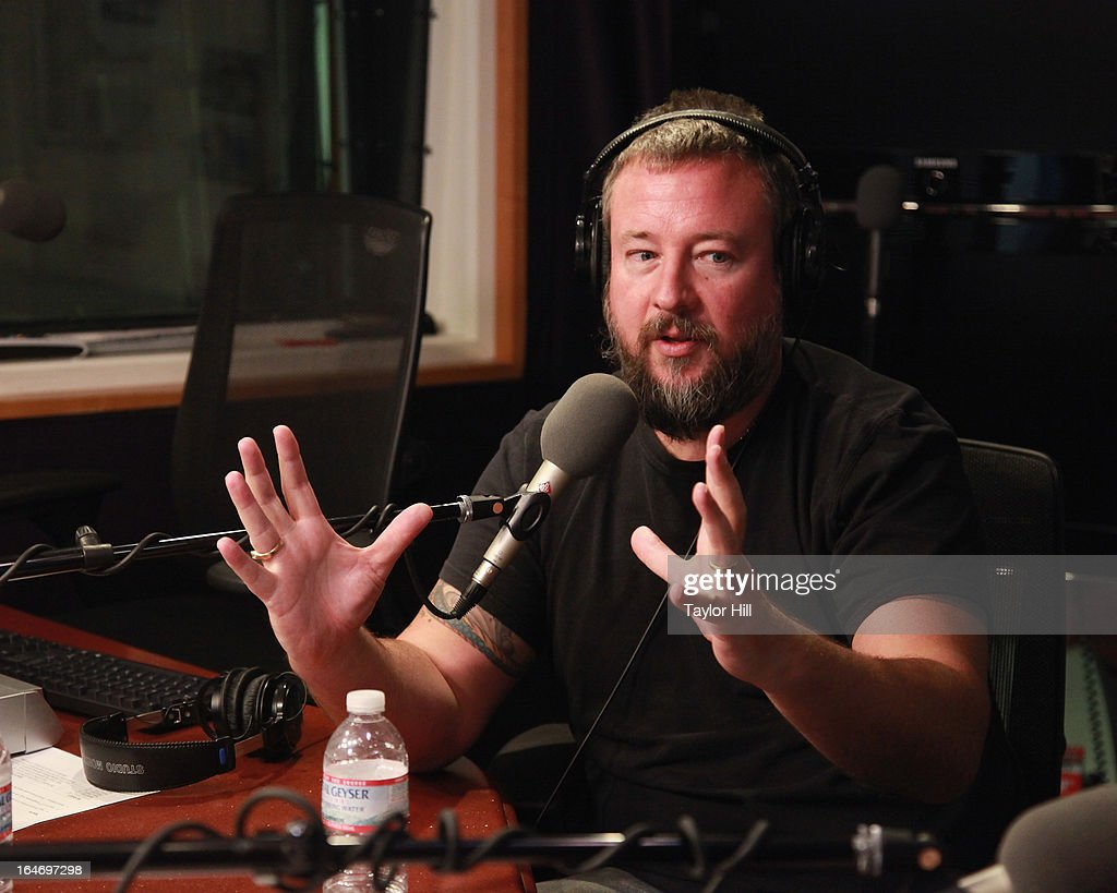 Magazine CEO Shane Smith visits 'The Opie & Anthony Show' at SiriusXM Studios on March 26, 2013 in New York City.