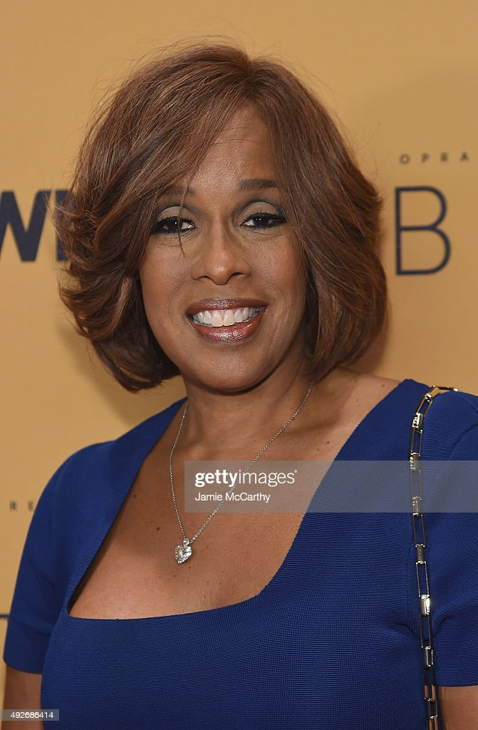 Magazine editor Gayle King attends the 'Belief' New York premiere at TheTimesCenter on October 14, 2015 in New York City.