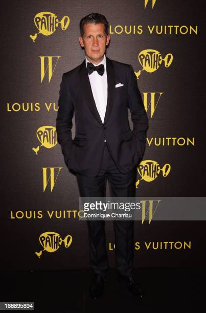 Magazine Editor in Chief Stefano Tonchi attends The Bling Ring Party hosted by Louis Vuitton during the 66th Annual Cannes Film Festival at Club...
