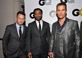 GQ Magazine editorinchief Jim Nelson Actors Chiwetel Ejiofor and Matthew McConaughey attend the GQ Men Of The Year Party at The Ebell Club of Los...