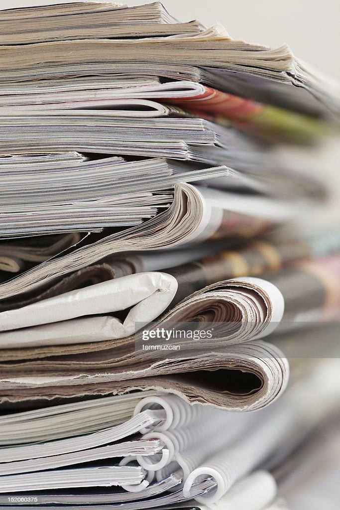 Magazines : Foto de stock