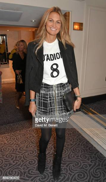 Magda Palos attends the Future Dreams 'Make Your Mark' ladies lunch at The Savoy Hotel on October 9 2017 in London England