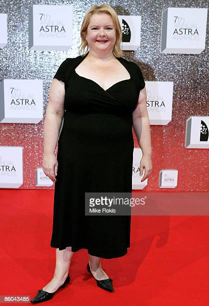 Magda Szubanski attends the 7th Annual ASTRA Awards at The Royal Hall of Industries Moore Park on April 20 2009 in Sydney Australia The ASTRA Awards...