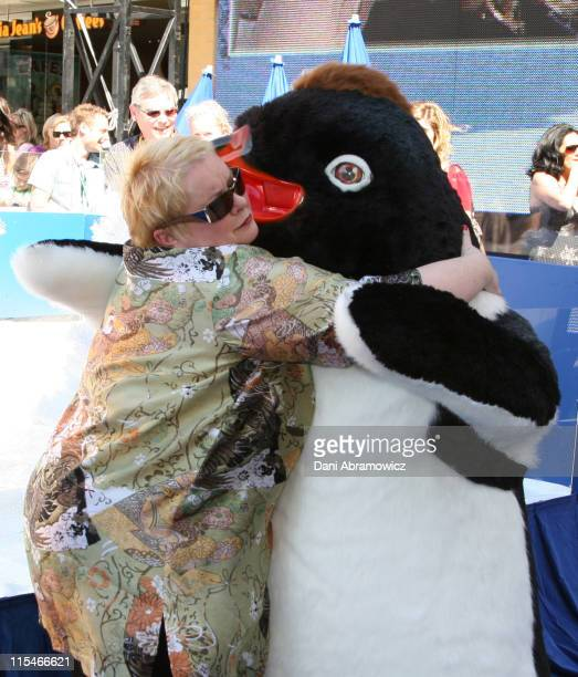 Magda Szubanski during ''Happy Feet'' Sydney Premiere at Fox Studios in Sydney NSW Australia