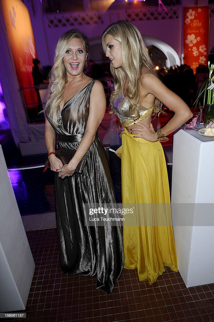 Magdalena Brzeska and Rosanna Davidson attends the Barbara Tag 2011 on December 03, 2011 in Munich, Germany.