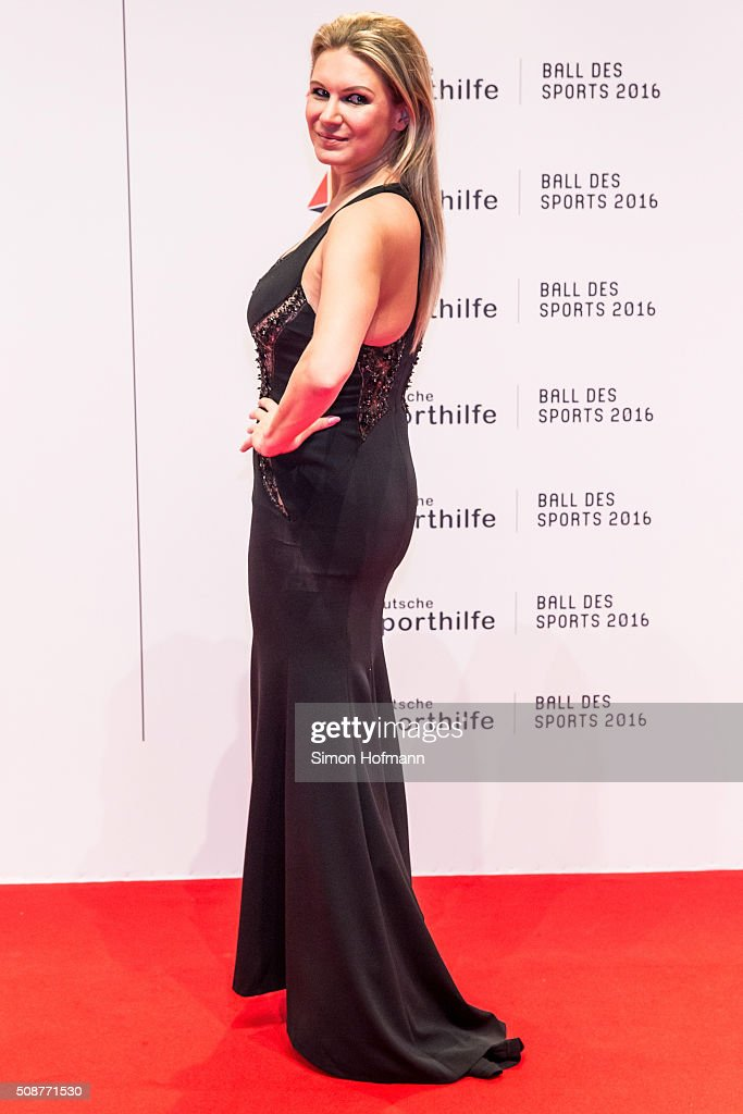 <a gi-track='captionPersonalityLinkClicked' href=/galleries/search?phrase=Magdalena+Brzeska&family=editorial&specificpeople=225040 ng-click='$event.stopPropagation()'>Magdalena Brzeska</a> attends German Sports Gala 'Ball des Sports 2016' on February 6, 2016 in Wiesbaden, Germany.