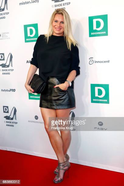 Magdalena Brzeska attends the Deichmann Shoe Step of the year award at Curio Haus on May 16 2017 in Hamburg Germany