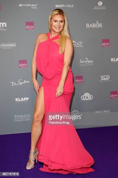 Magdalena Brzeska attends the Gloria Deutsche Kosmetikpreis at Hilton Hotel on March 31 2017 in Duesseldorf Germany