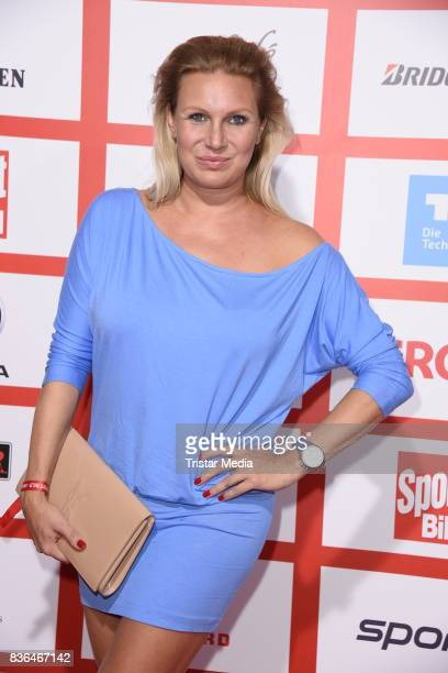 Magdalena Brzeska attends the Sport Bild Award on August 21 2017 in Hamburg Germany