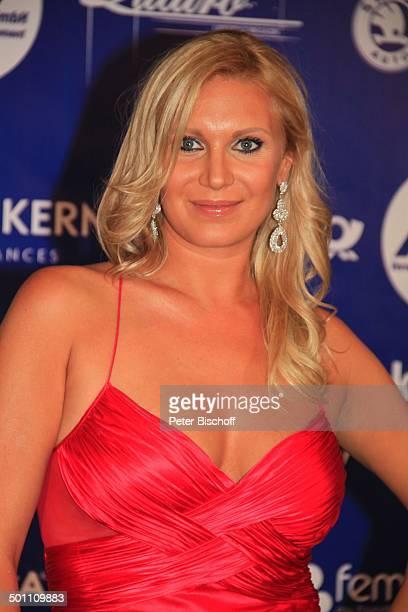 Magdalena Brzeska CharityVeranstaltung 17 'UnescoBenefizGala' 2009 Hotel 'Maritim' Düsseldorf NordrheinWestfalen Deutschland Europa sexy Dekollete...
