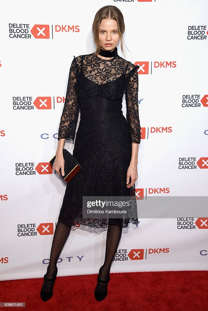 Magdalena Frackowiak attends the 10th Annual Delete Blood Cancer DKMS Gala at Cipriani Wall Street on May 5, 2016 in New York City.