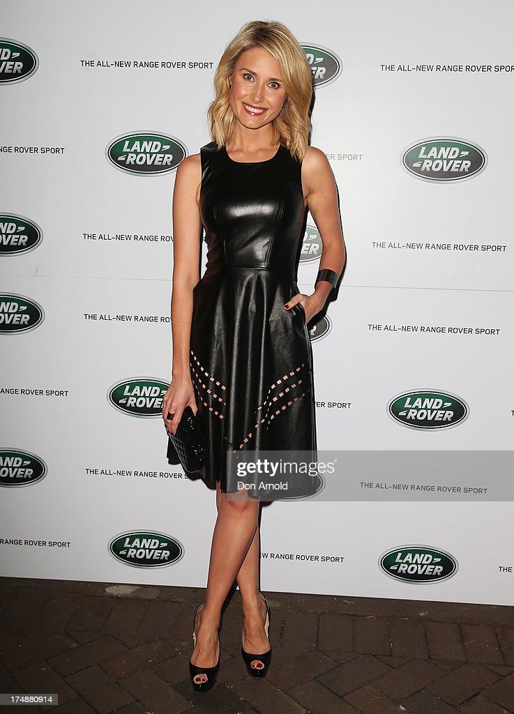 Magdalena Roze arrives at a Range Rover Sport launch event at the Overseas Passenger Terminal on July 29, 2013 in Sydney, Australia.