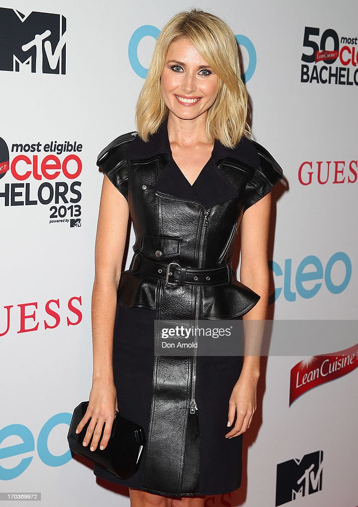Magdalena Roze arrives at the CLEO Bachelor of the Year Awards at the Beresford Hotel on June 12, 2013 in Sydney, Australia.