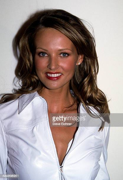 Magdalena Wrobel at Wonder Bra event New York August 8 2000