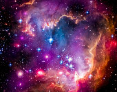 The Magellanic Cloud is a dwarf galaxy and a galactic neighbor of the Milky Way. Even though it is a small galaxy, it is so bright that it is visible to the unaided eye from the Southern Hemisphere an
