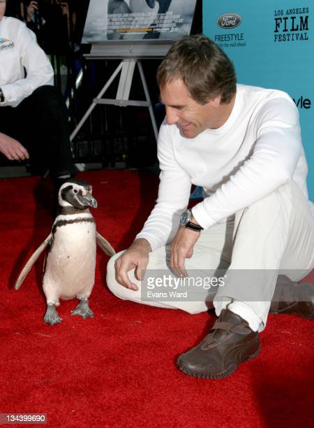 A Magellanic Penguin from Sea World and Scott Bakula