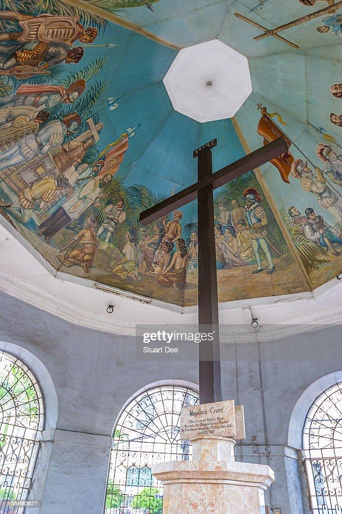 Magellan's Cross, Cebu City, Philippines : Stock Photo