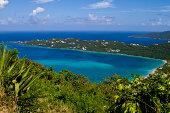Magens Bay, St. Thomas Island.