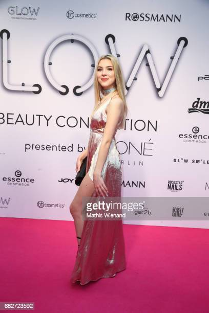 Magg andlifestyle attends the GLOW The Beauty Convention on May 13 2017 in Duesseldorf Germany