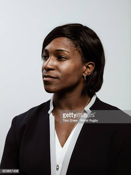Maggie Alphonsi of England during the induction at the launch of the World Rugby Hall of Fame at the Rugby Art Gallery and Museum on November 17 2016...