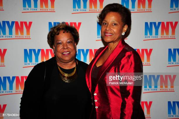 Maggie Barchette and Frances McKinney attend NEW YORK NEEDS YOU Annual Gala Fundraiser at CIPRIANI 42 ST NYC on September 15 2010 in New York City