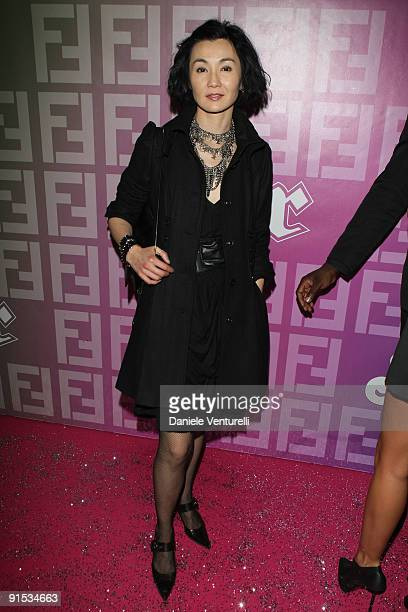 Maggie Cheung attends Fendi 'O' party For Pixie Lott at the VIP ROOM Theater on October 6 2009 in Paris France