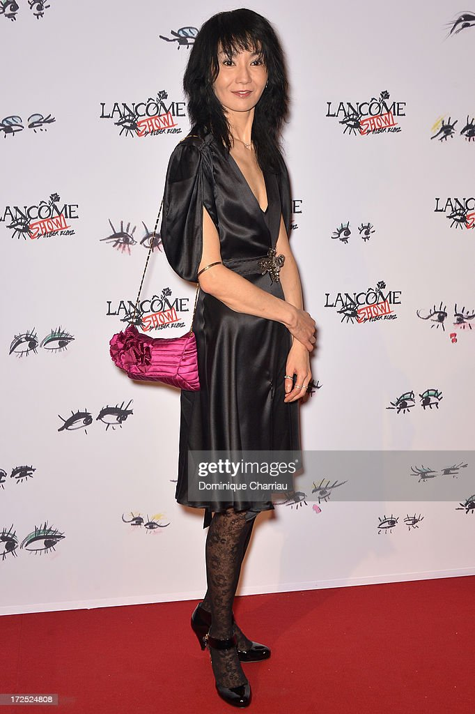 Maggie Cheung attends the 'Lancome Show By Alber Elbaz' Party at Le Trianon on July 2, 2013 in Paris, France.