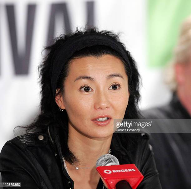 Maggie Cheung during 2004 Toronto International Film Festival 'Clean' Press Conference at Four Seasons in Toronto Ontario Canada