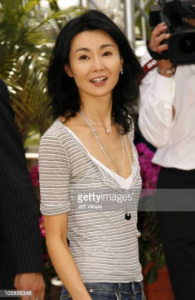 Maggie Cheung during 2007 Cannes Film Festival Jury Photocall at Palais des Festival in Cannes France