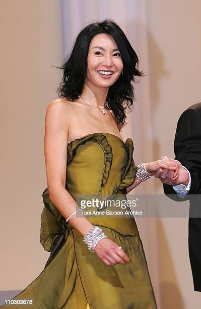 Maggie Cheung during 2007 Cannes Film Festival Opening Night Gala Inside at Palais des Festivals in Cannes France