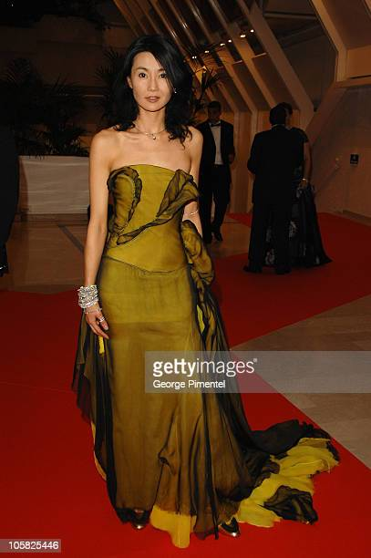 Maggie Cheung during 2007 Cannes Film Festival Opening Night Gala Dinner Arrivals at Palais des Festivals in Cannes France