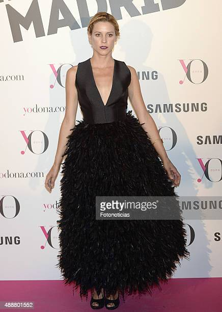 Maggie Civantos attends the 'Yo Dona' Party at the NH Collection Eurobuilding Hotel on September 17 2015 in Madrid Spain