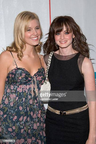 Maggie Grace and Alexis Bledel during 5th Annual Tribeca Film Festival I'm Reed Fish Premiere at Regal Cinemas Battery Park in New York City New York...