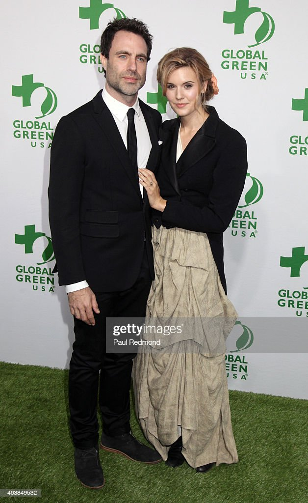 Maggie Grace and Matthew Cooke attend Global Green USA's 12th Annual PreOscar Party at Avalon Hollywood on February 18 2015 in Los Angeles California